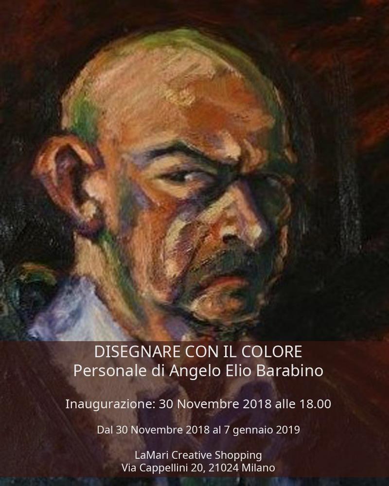Disegnare Con Il Colore Personale Di Angelo Barabino Da Venerdì 30