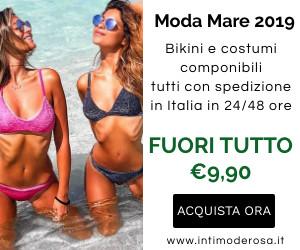 Intimoderosa.it - bikini, costumi componibili, moda mare 2019, intimo