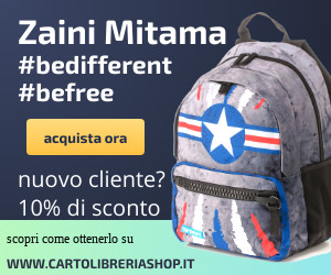 Cartolibreriashop.it vendita on line di zaini astucci Mitama