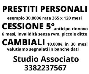 prestiti cessione del quinto a Milano
