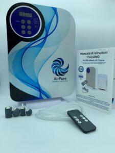 airpure ozono sanificatore