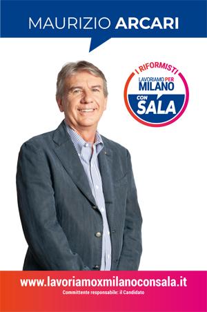 Maurizio Arcari candidato elezioni comunale di Milano